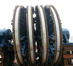 mine hoist wear resistant sheave liners
