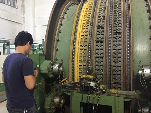 Numerical Control Turning Lathe of Wire Rope Sheave Linings