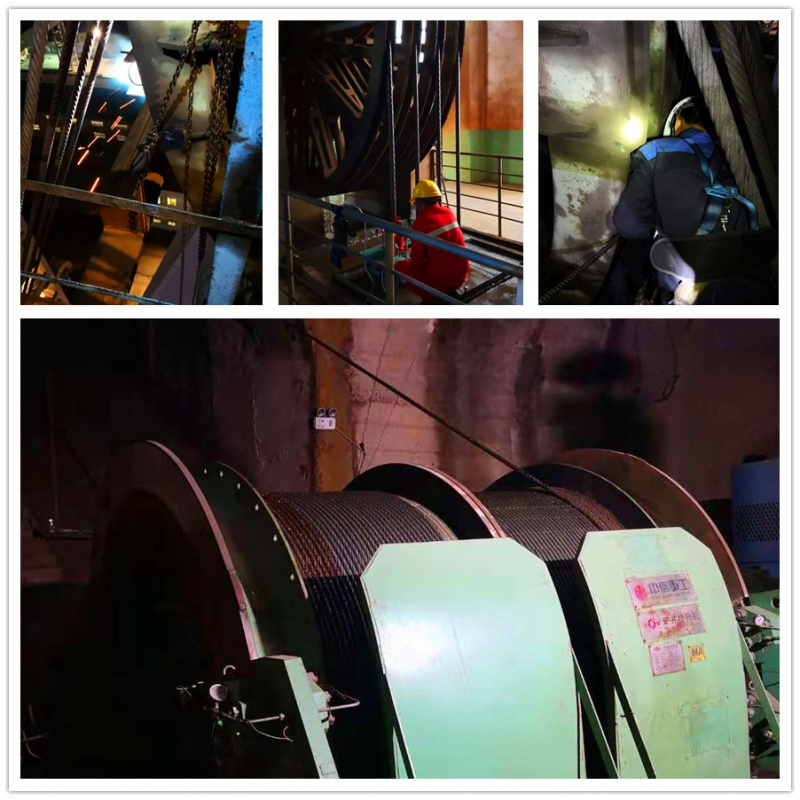 Mining Hoist Wire Rope Inspection Service